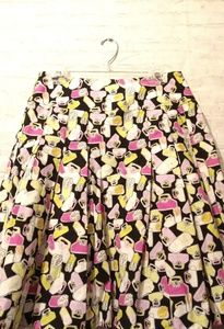 Liz Claiborne skirt size 10 with picture purse's